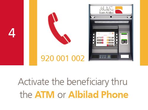 Bank Abilad - Transfer via Western Union Online Through
